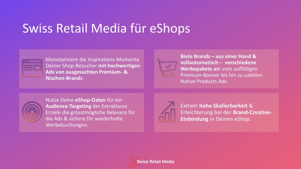 Neue Werbeform - Swiss Retail Media